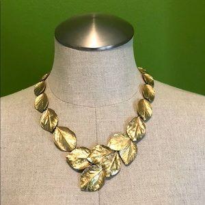 Anthropologie Leaf Necklace